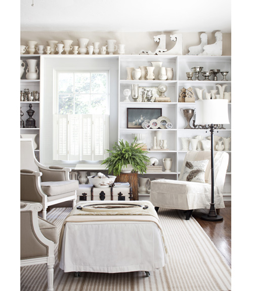 30 White Living Room Decor - Ideas for White Living Room Decorating