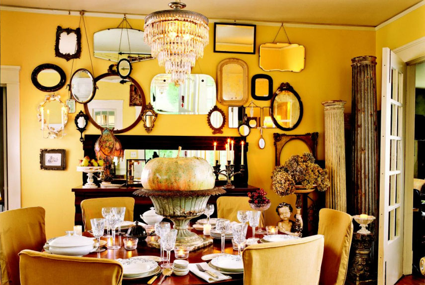 Dining Room Decorating Color Ideas yellow decor - decorating with yellow
