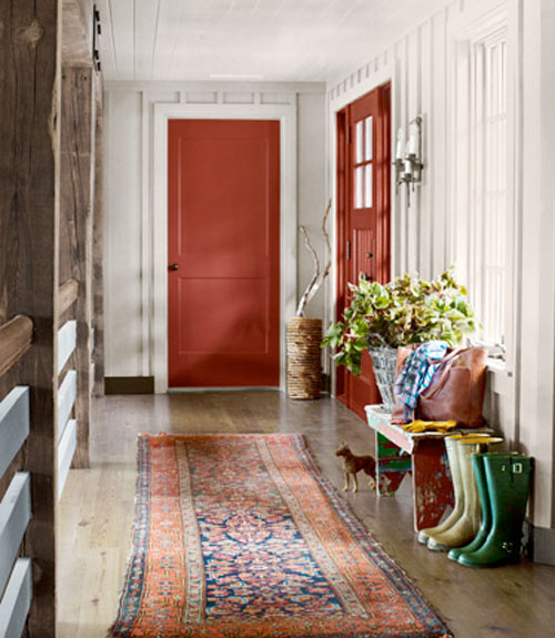 Rustic Hallway Wall Decor : Hallway decorating ideas designs