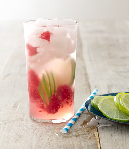 Raspberry Gin Rickey Recipe
