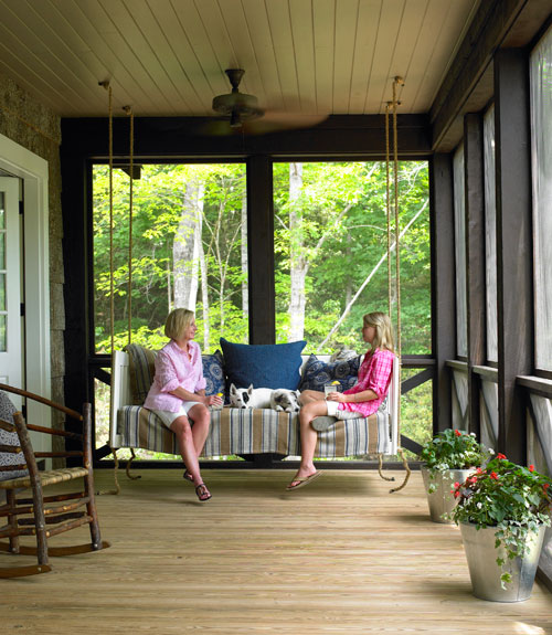 front porch designs small porch with great appeal three season - Front Patios Design Ideas