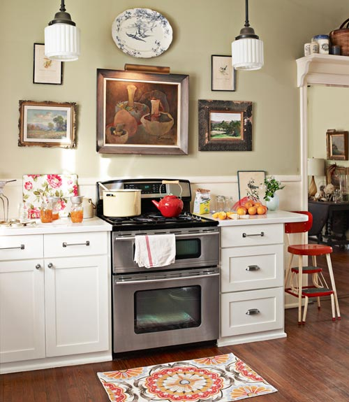 Homey Kitchen cozy kitchens - how to make your kitchen cozy