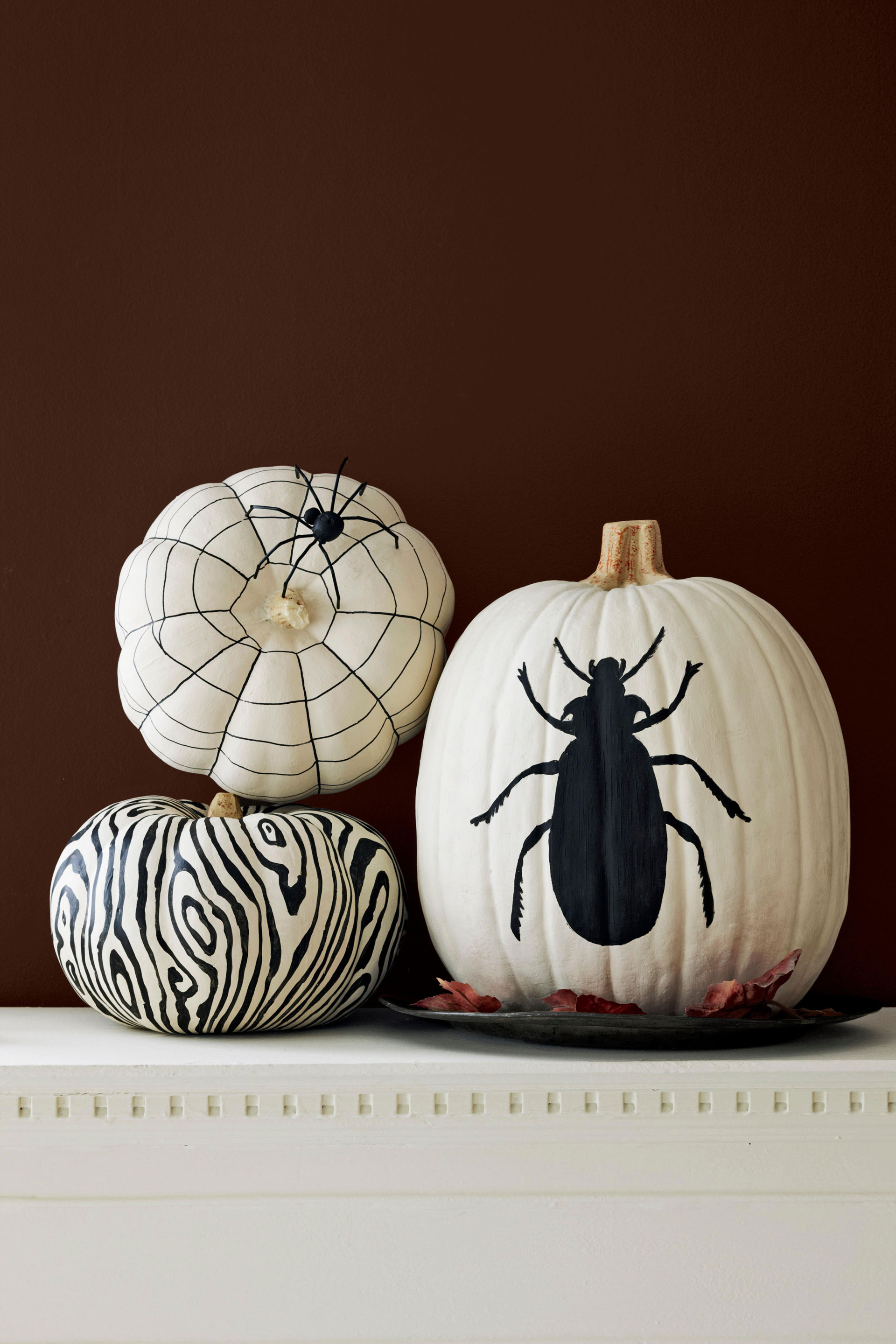 57 easy painted pumpkins ideas no carve halloween pumpkin painting decorating ideas