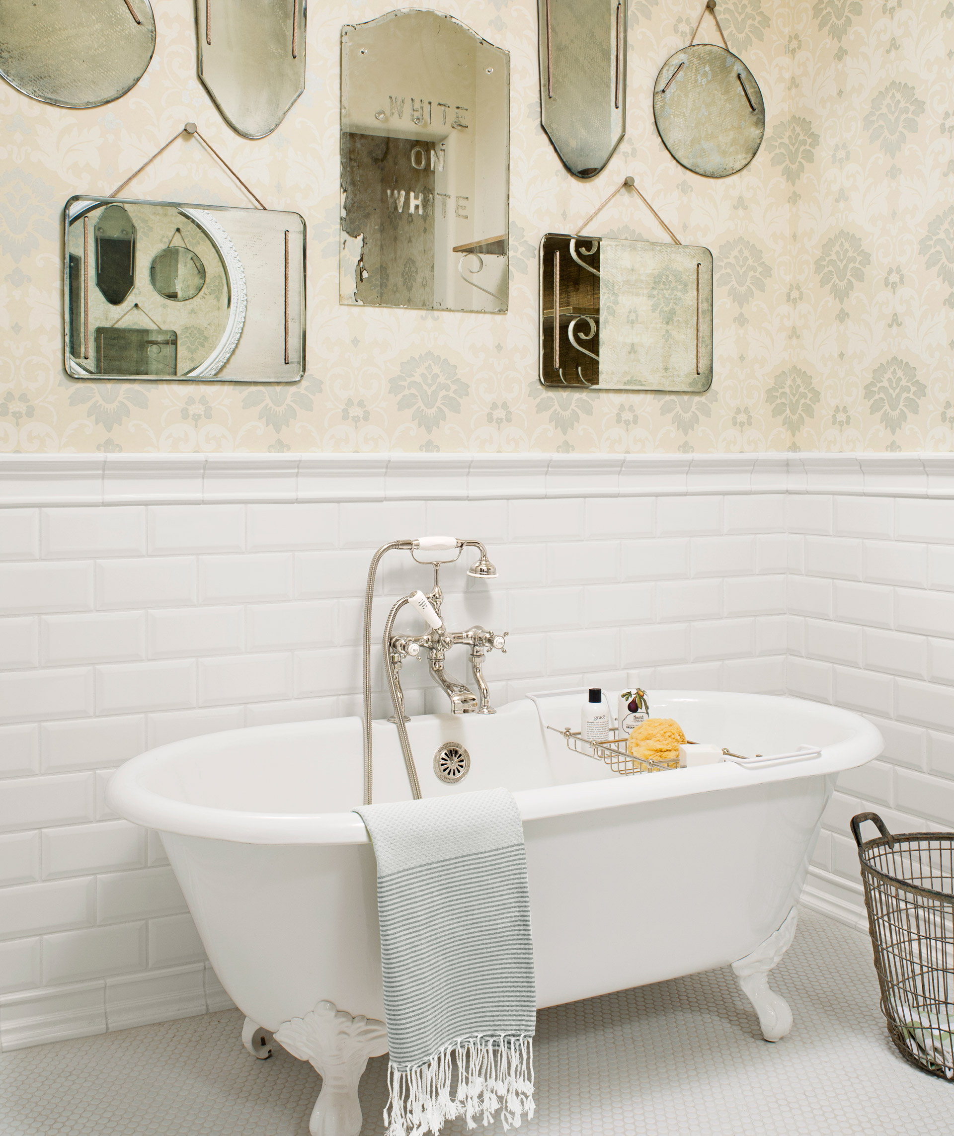 Bathroom Accessories Vintage 90 best bathroom decorating ideas - decor & design inspirations