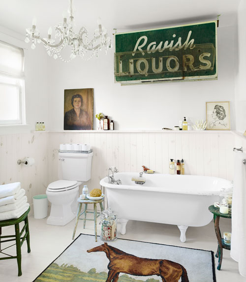 Vintage Bathroom Ideas 90 best bathroom decorating ideas - decor & design inspirations