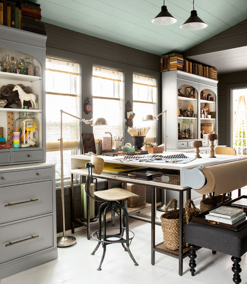 Creative Home Office Ideas For Small Spaces: House Of The Year 2012