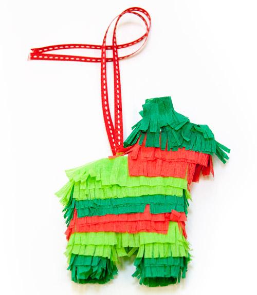 How To Make A Pinata Ornament DIY Christmas Ornaments - Christmas Tree Pinata