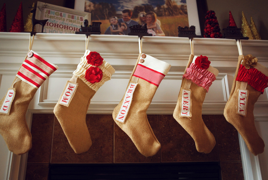 40 Best Personalized Christmas Stockings - Unique Christmas ...
