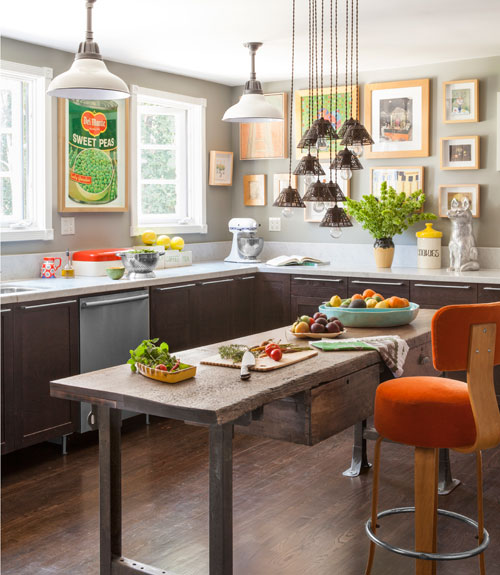Country Kitchen Decorating Ideas: Sasha Emerson's California Cottage