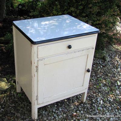 Vintage Cabinet - Flea Market Haul