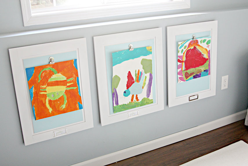 Displaying Kids Artwork How To Display Kids Artwork