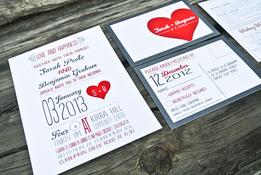 Affordable Handmade Wedding Invitations Cheap Etsy Wedding