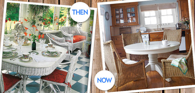 decorating with wicker furniture. furnish your home with this country stapleu2014but a 21stcentury update decorating wicker furniture