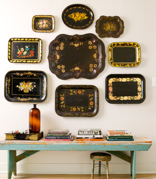 Decorating With Antiques display collections - how to decorate with antiques