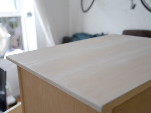 How to Whitewash Furniture  Distressed Furniture