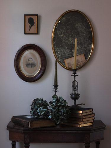 spooky antique halloween decor - Victorian Halloween Decorations