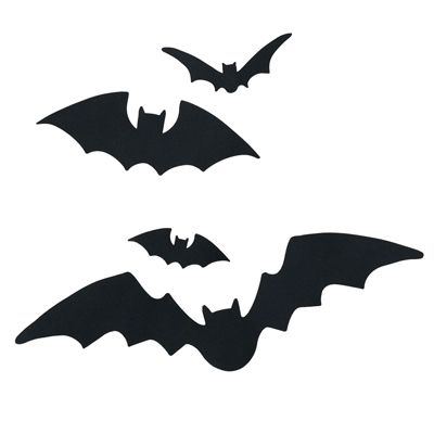 BatFilled Front Door Halloween Craft Ideas