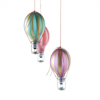 Danny Seo Hot Air Balloon Ornaments - DIY Christmas Ornaments ...