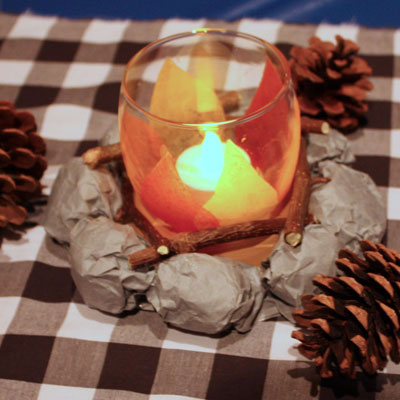 Host An Indoor Camping Party Recipe And Entertaining Ideas
