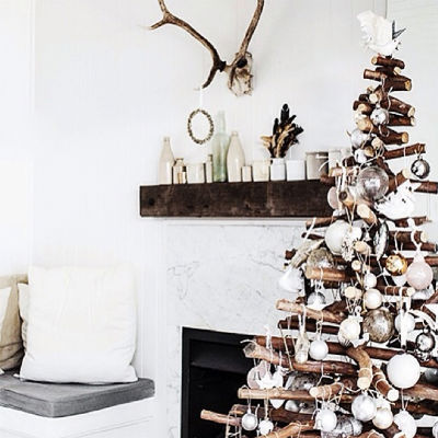 DIY Wooden Christmas Tree Craft