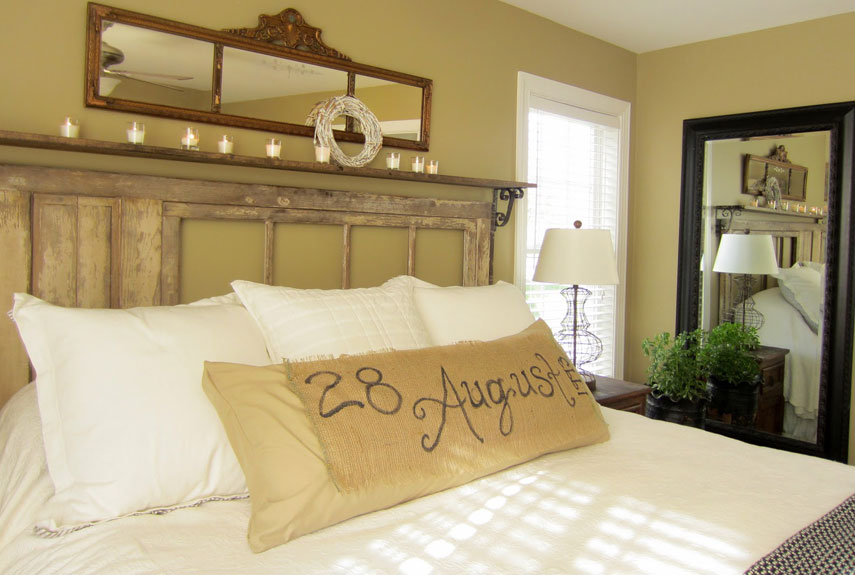 diy romantic bedroom decorating ideas country living - Diy Bedroom Decorating