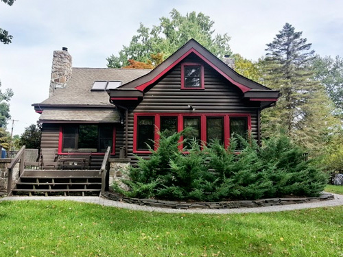 Log Style Homes For Sale House Design Plans