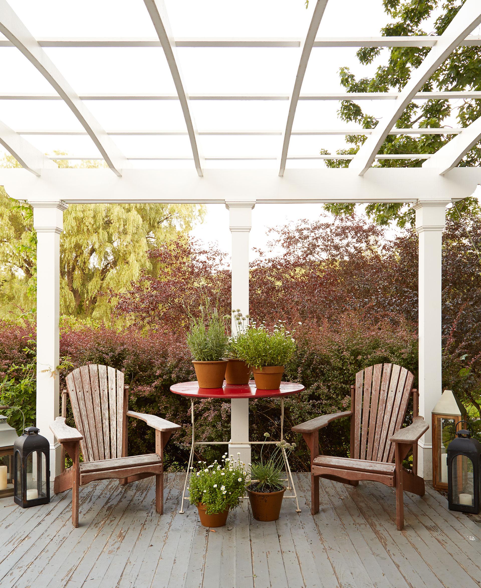 outdoor porches