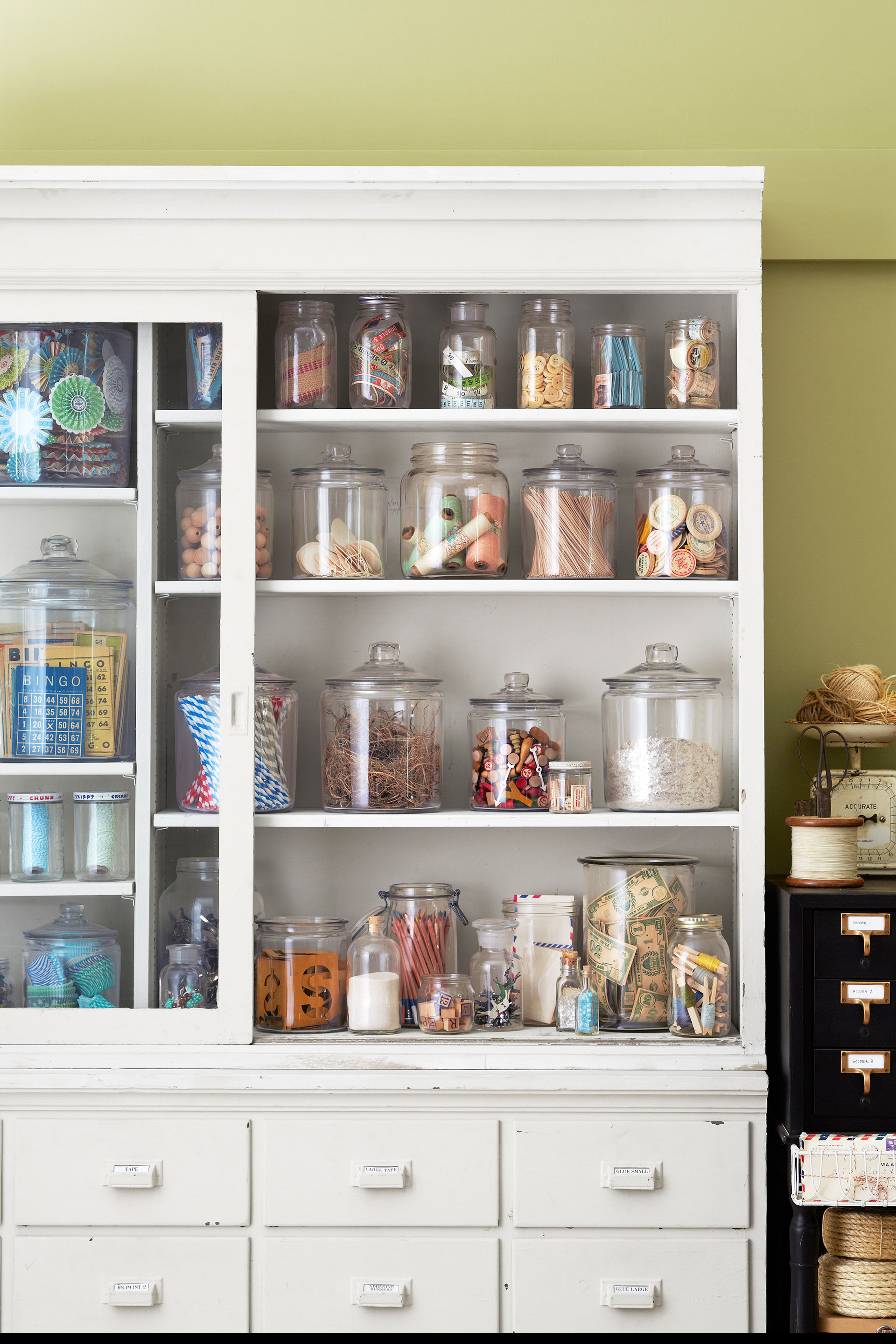 craft organization ideas craft room makeover inspiration - Ideas For Graphic Design Projects