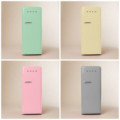 smeg refrigerators colorful home appliances. Black Bedroom Furniture Sets. Home Design Ideas