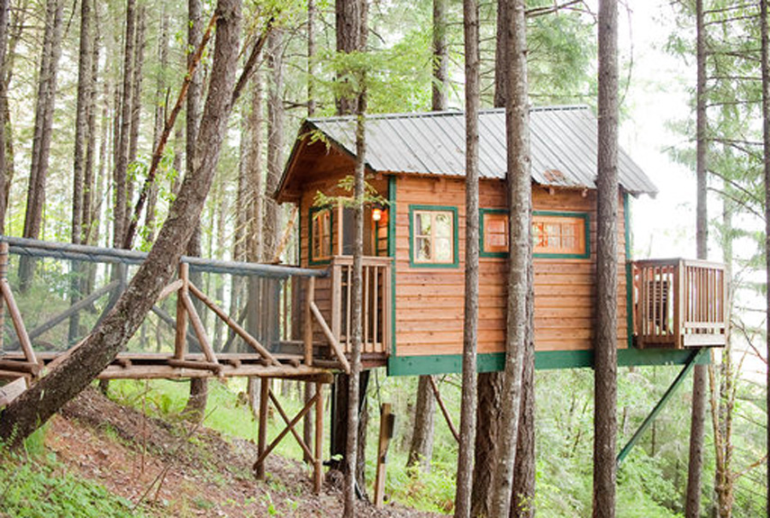 Treehouse Hotel In Oregon Part - 36: For A Family Vacation