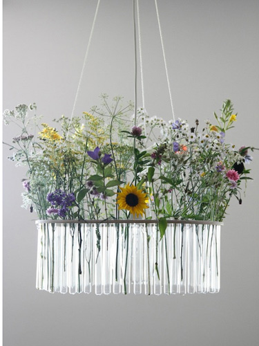 Etsy home decor finds creative vases for centerpieces for Test tube flower vase rack
