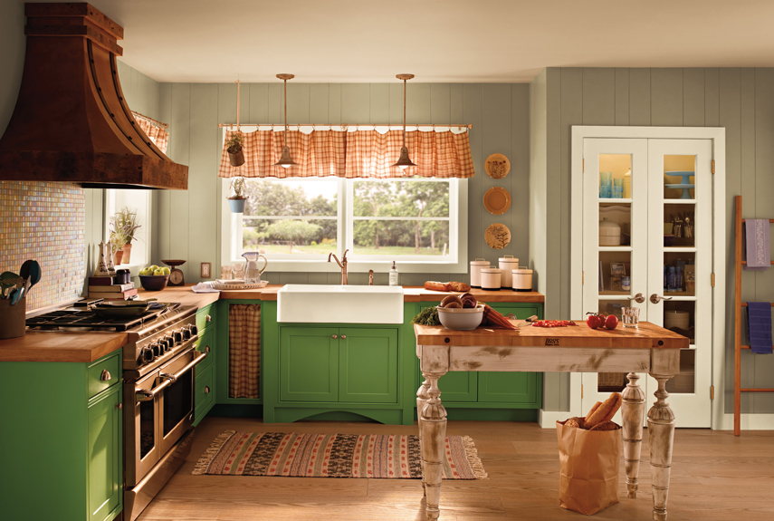 Exceptional Behr Kitchen Colors Part - 4: Country Living Magazine