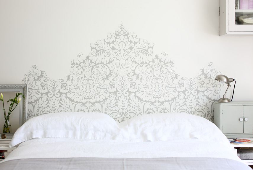 Paint That Looks Like Wallpaper easy paint ideas - cheap home decorating ideas