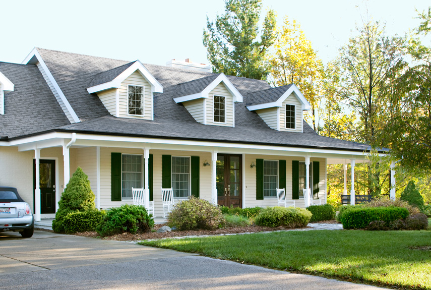 Home Exterior home renovation ideas - before and after home remodeling pictures
