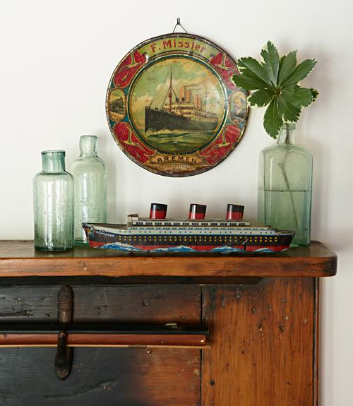 Vintage Nautical Bedding: Nautical Antiques