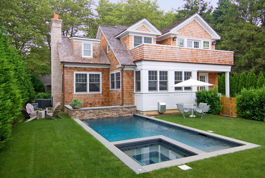 long island bungalow - Pool Designs Ideas