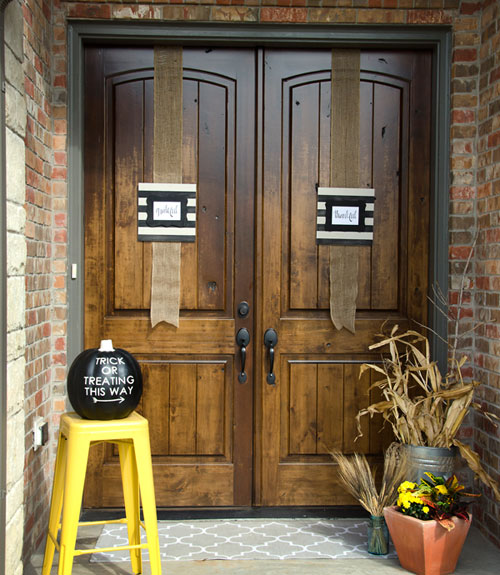 Fall Decor Ideas Canadian Bloggers Home Tour: Michelle Stoddard Fall House Tour