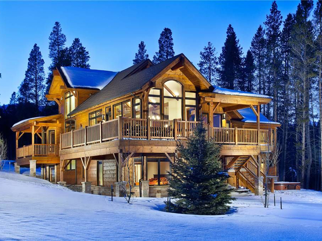 Luxury ski chalet rentals homeaway rentals for Ski cabins in colorado