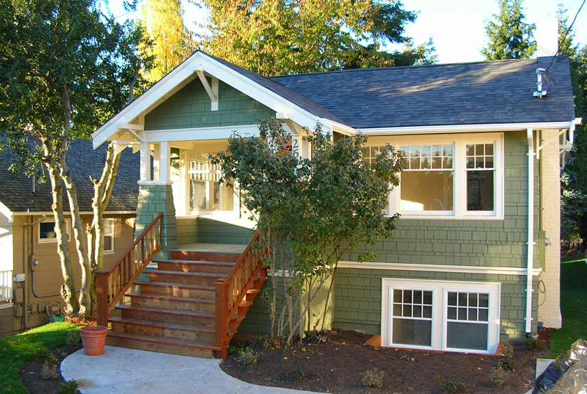 after washington craftsman home - Before And After Home Remodel