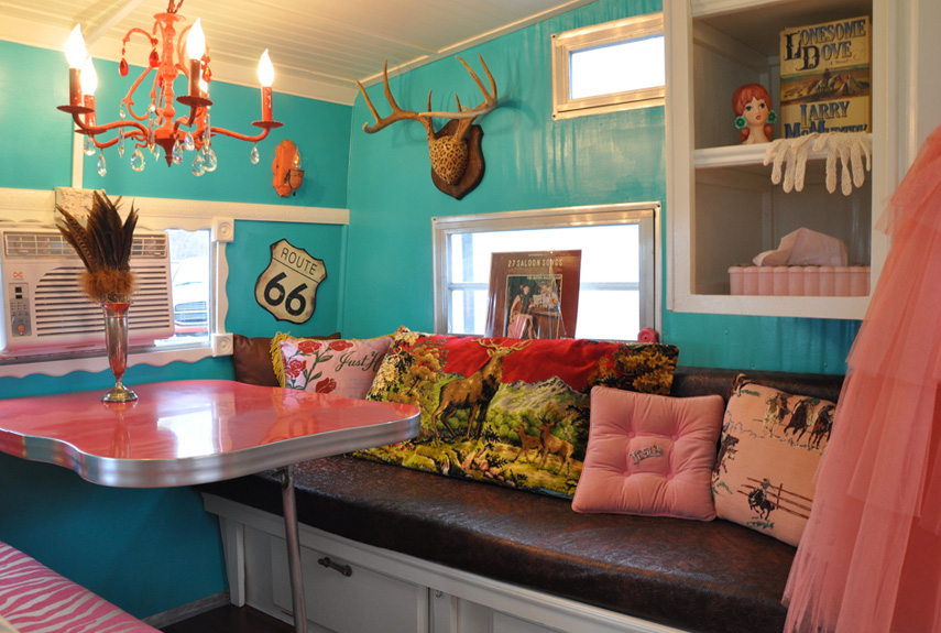 rustic chic trailer - Camper Design Ideas