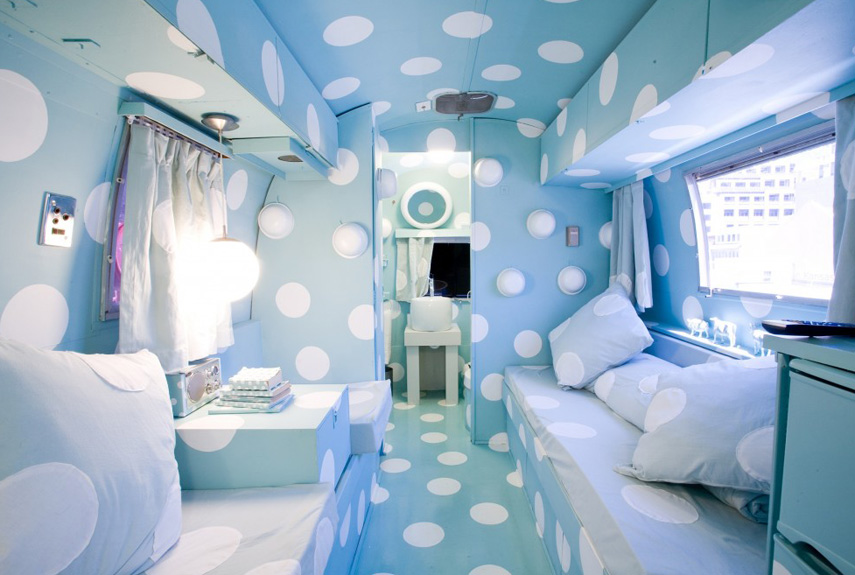 playful and quirky airstream - Camper Design Ideas