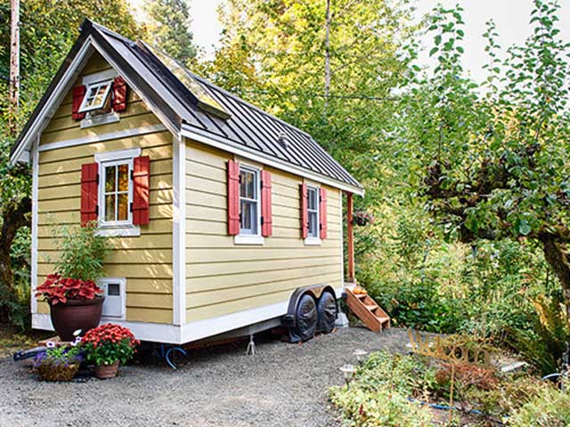 Small home decorating ideas tumbleweed tiny house - Calculating square footage of a house pict ...