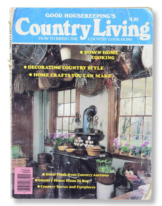 The First Issue Of Country Living Thanks Linda