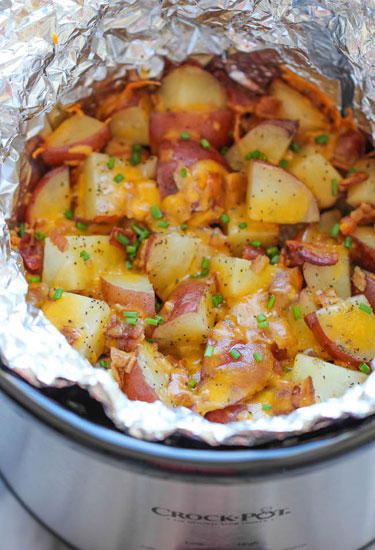 A perfect side dish, these easy-to-make potatoes require only five ingredients. 