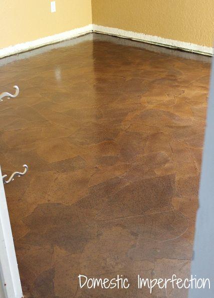 Hometalk Paper Bag Floors Flooring Ideas