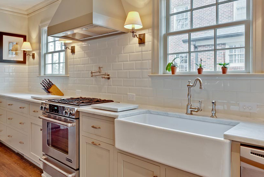 good Kitchen Design Backsplash #7: Subway Tile Backsplash