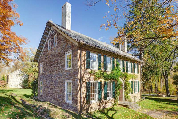 Enchanting Stone House for Sale Historic Homes in New Jersey