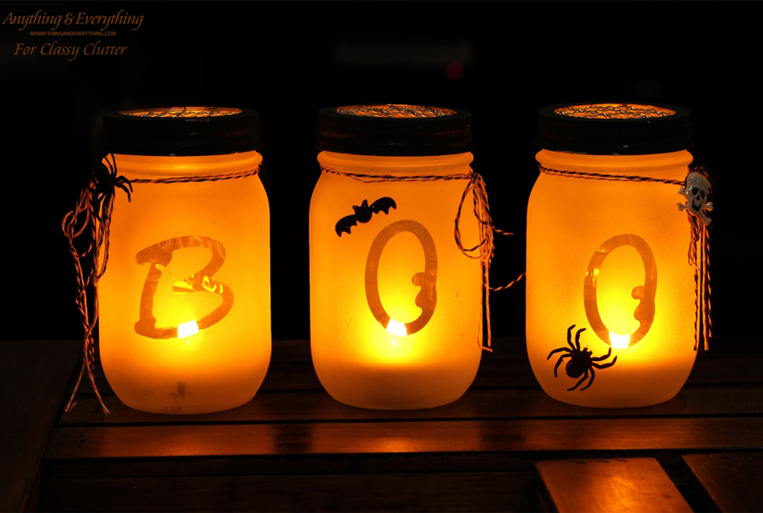 30 halloween mason jars craft ideas for using mason jars for