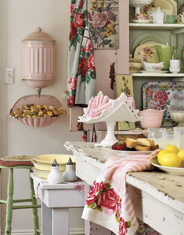 12 Shabby Chic Kitchen Ideas   Decor And Furniture For Shabby Chic Kitchens Part 64