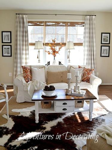 Autumn Living Room Decorating: Hometalk Decorating Ideas